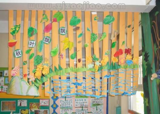 大班美术:秋天的苹果树我觉得已经相当精彩了.