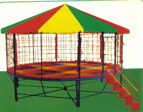 圆形帐篷收叠方法图解