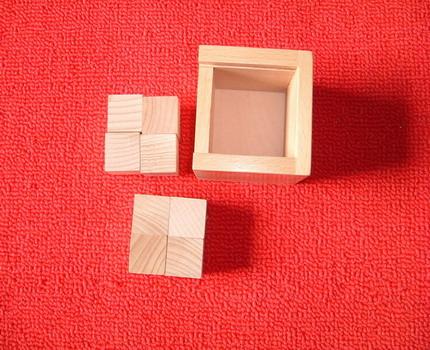 福禄贝尔恩物三:正方体组 - 福禄贝尔 - 幼儿园教具