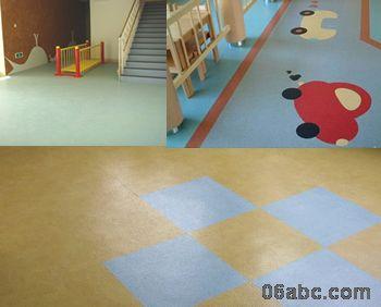 韩国lg系列pvc卷材优耐/幼儿园专用塑胶地板1.8mm*2m*