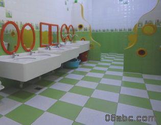 幼儿园盥洗室布置5