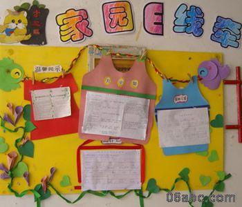 幼儿园家园栏布置图:家长园地