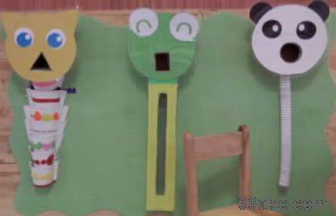 幼儿园小班操作区:喂小动物