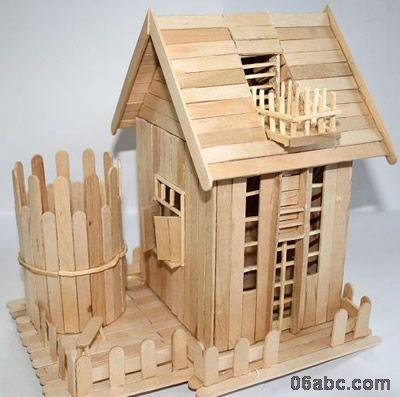 幼儿园手工制作:小房子--宋泽宇的blog