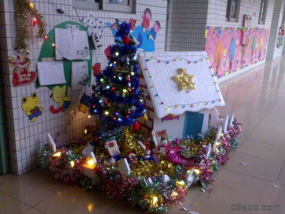 圣诞节环境布置_圣诞节幼儿园环境创设:喜迎圣诞-幼儿园环境布置图片- 分类 ...