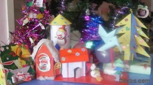幼儿园圣诞节小手工制作