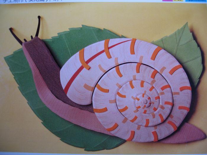 幼儿园墙面布置:蜗牛
