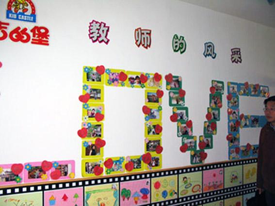 幼儿园墙面布置:教师的风采
