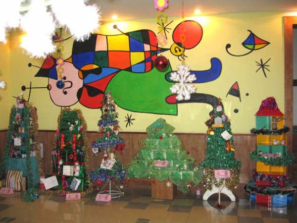 幼兒園室內環境布置:圣誕節布置6