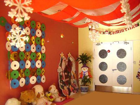 圣诞节环境布置_幼儿园室内环境布置:圣诞节布置5-区角环境布置-图片- 资源下载 ...