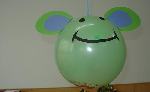 幼儿园吊饰图片:小老鼠气球吊饰