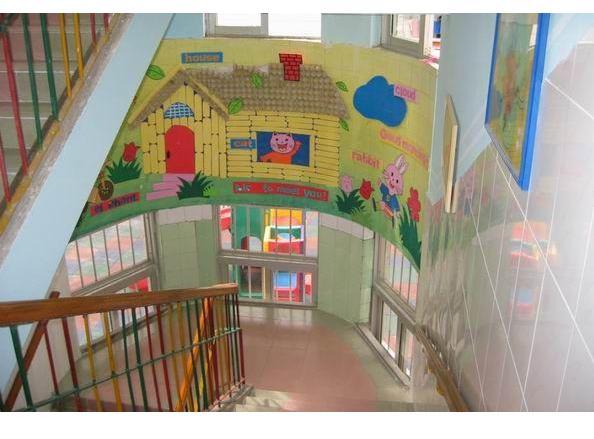 幼儿园楼道环境布置:小动物的家-吊饰-图片- 资源下载