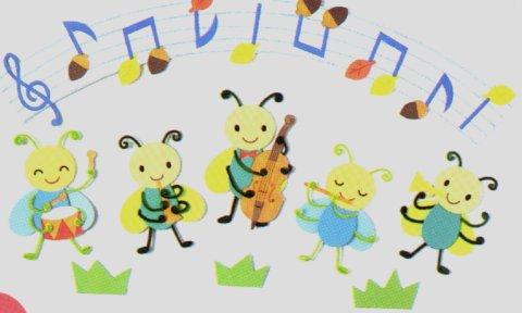 幼儿园墙面布置:小蜜蜂音乐会图片