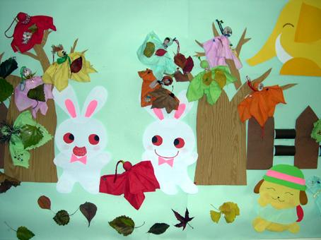 幼儿园环境布置:小动物2(墙面)