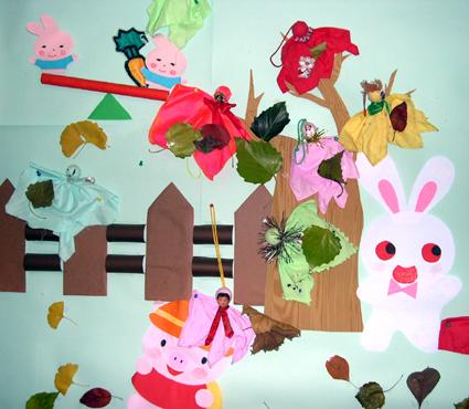 幼儿园环境布置:小动物乐园(墙面)-幼儿园主题墙