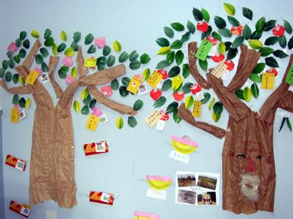 design 幼儿园手工展板图片图片展示_幼儿园手工展板图片  幼儿园春天
