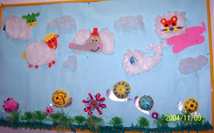幼儿园环境布置33:小动物