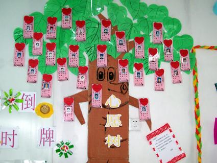 幼儿园环境布置:心愿树