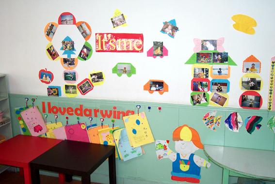 幼儿园环境布置:英语角