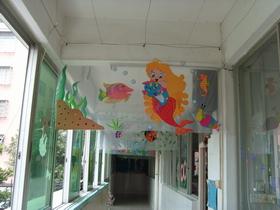 幼儿园走廊吊饰 千变万化的海底世界