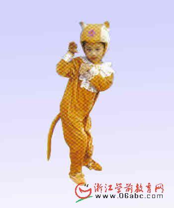 小猴子演出服幼儿园六一节目演出服动物服幼儿园童话剧服装