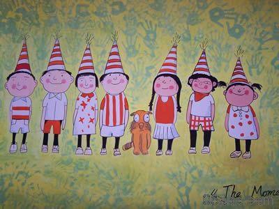 """""""六一""""的环境布置-幼儿园主题墙-图片"""
