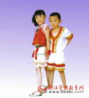 壮族幼儿民族服装