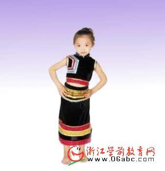 傣族民族服饰/幼儿演出表演服装