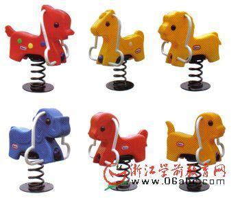 小动物摇马 - 跷跷板摇马跳马 - 游乐设备 - 学前商城