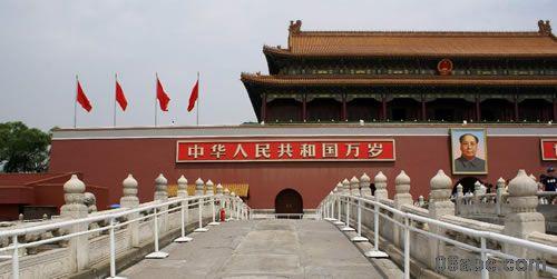 天安门城楼-幼儿园国庆节教育专题图片资源