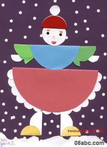 纸贴画:可爱娃娃(图)打包下载