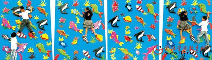 室内软体攀岩墙/儿童游乐设施