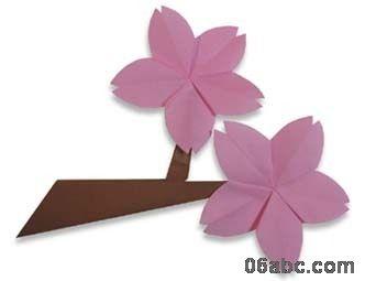 幼儿园手工制作:漂亮的梅花