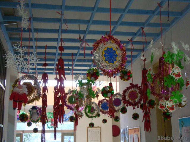 幼儿园走廊吊饰:挂饰集锦