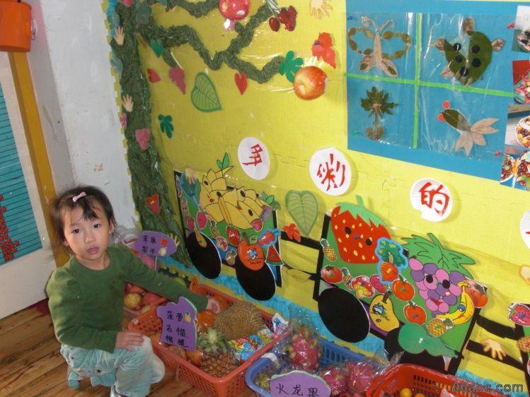 幼儿园环境布置 秋天墙面布置;