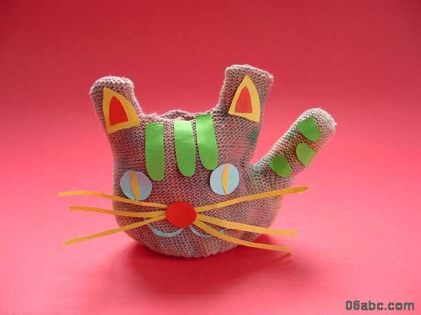 手工制作:小动物
