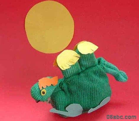 幼儿园手工制作:可爱的小动物(手套制作);