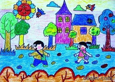 儿童美术绘画纸铅画纸/素描纸/水粉画/蜡笔画