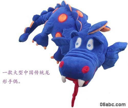 40222手套偶恐龙 德国贝乐多幼儿园表演玩具,手偶玩具