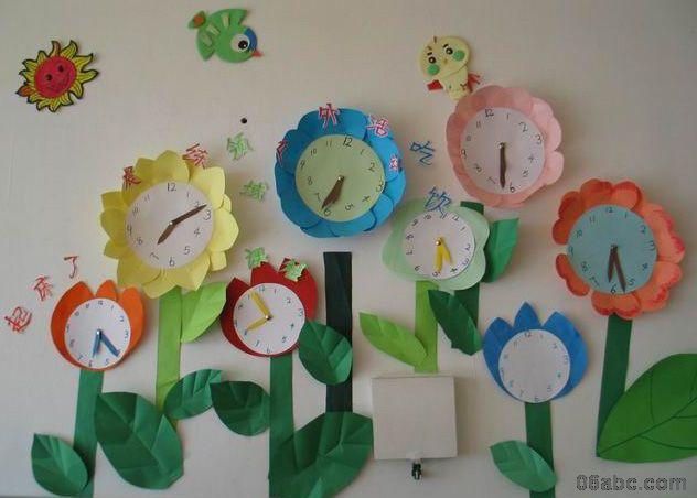 幼儿园环境布置:墙面布置