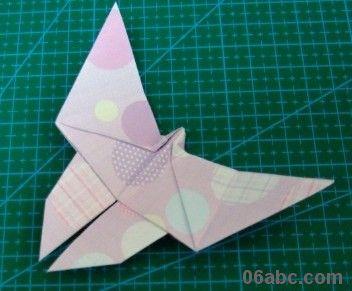 各种手工折纸蝴蝶:美丽的蝴蝶