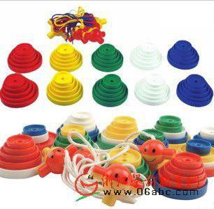 堆塔钮扣10309-ap 台湾游思乐进口儿童益智玩具diy