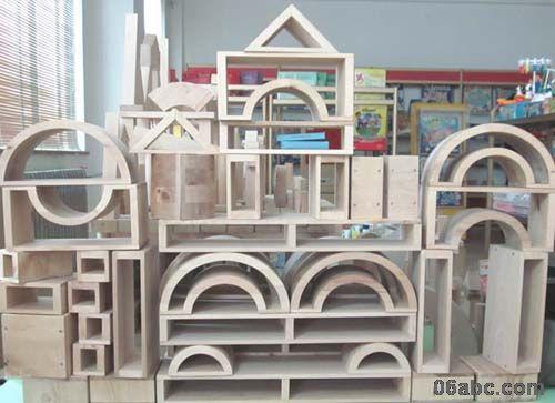 积木qgm0042幼儿园建构区空心积木玩具包物流搭建
