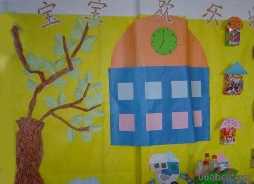 儿园环境布置 春天来了 幼儿园大班春天主题墙饰
