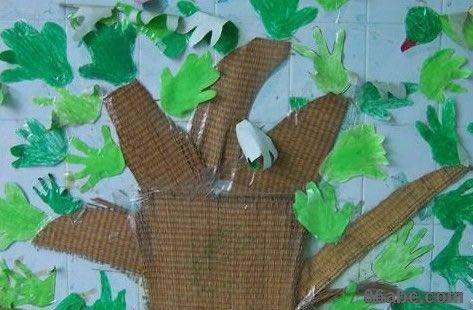 幼儿园环境布置:春天来了-幼儿园大班春天主题墙饰