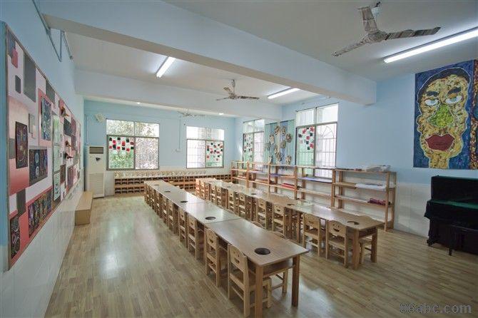 幼儿园区角布置图片参考 美工区