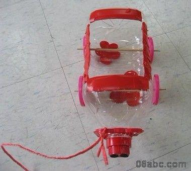幼儿园玩具手工制作(废旧物品再利用)