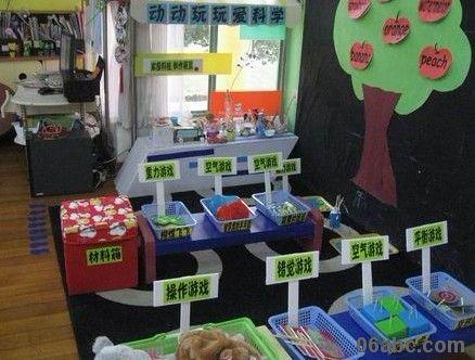 幼儿园大班科学区角中如何投放材料图片范例图片