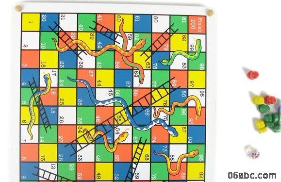 游戏方法:飞行棋是由2-4人组成的游戏,每位玩家有四枚棋子,棋盘中的红图片