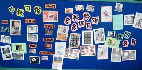 幼儿园环境创设:中秋节墙面/幼儿园中秋节主题墙